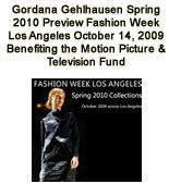 Gordana Gehlhausen Spring 2010 Preview Fashion Week