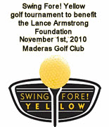 Swing Fore! Yellow Golf Tournament