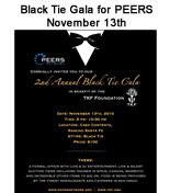 Black Tie Gala for PEERS