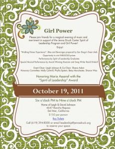 Girl Power ON LINE Invite