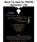 Black Tie Gala for PEERS